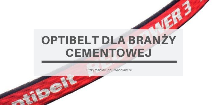Optibelt dla branży cementowej