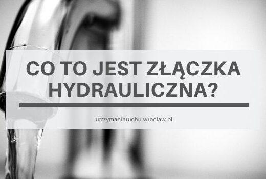 Co to jest złączka hydrauliczna?